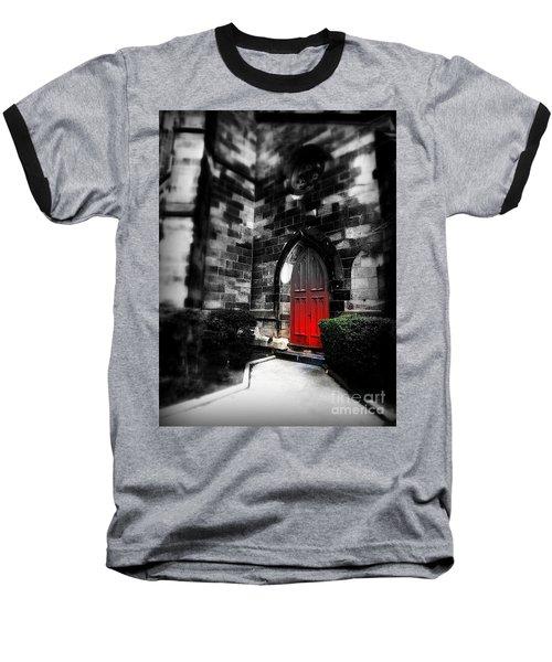Paint It Black Baseball T-Shirt
