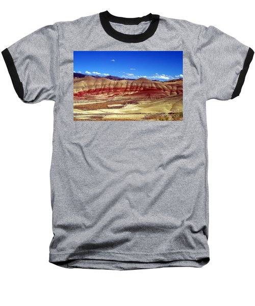 Baseball T-Shirt featuring the photograph Painted Hills by Chalet Roome-Rigdon