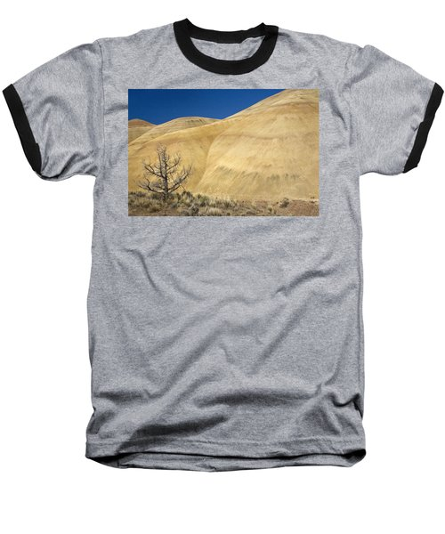 Baseball T-Shirt featuring the photograph Painted Hills Tree by Sonya Lang