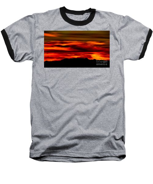 Baseball T-Shirt featuring the photograph Painted Sky 34 by Mark Myhaver
