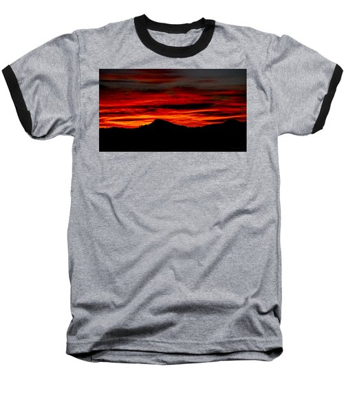 Baseball T-Shirt featuring the photograph Painted Sky 45 by Mark Myhaver