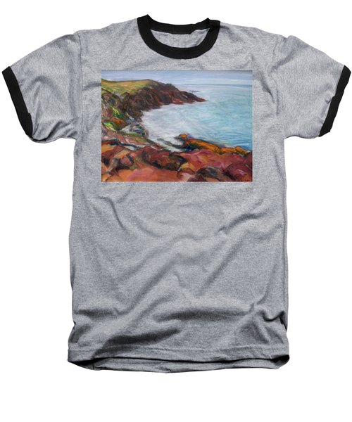 Painterly - Bold Seascape Baseball T-Shirt