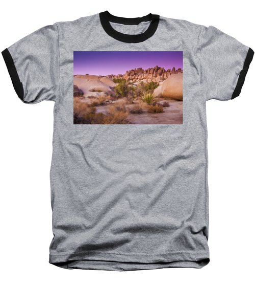 Painterly Desert Baseball T-Shirt