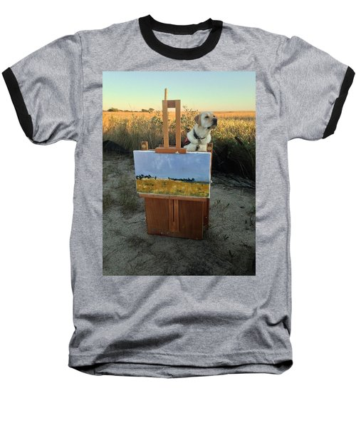 Come Paint With Me  Baseball T-Shirt