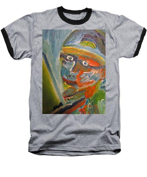 Painting Myself Baseball T-Shirt