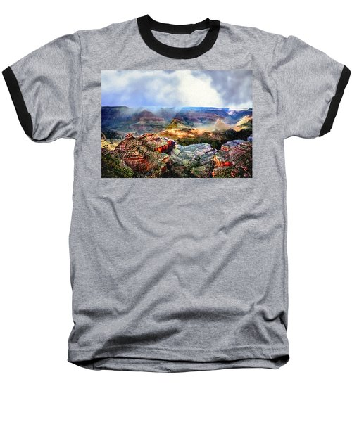 Painting The Grand Canyon Baseball T-Shirt
