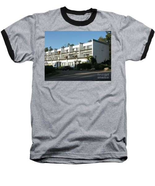 Paivola Building In Sunila Baseball T-Shirt