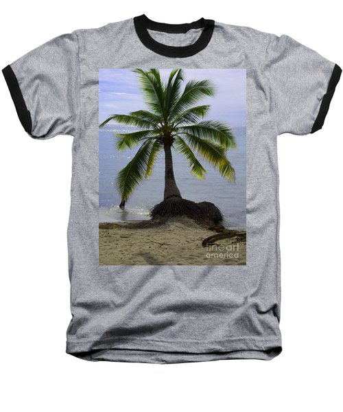 Palm At The Edge Of The Sea Number Two Baseball T-Shirt