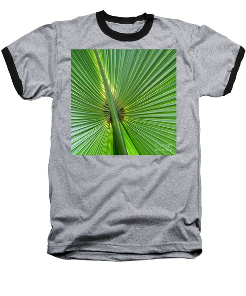 Baseball T-Shirt featuring the photograph Palm Love by Roselynne Broussard