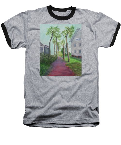 Palm Row In St. Augustine Florida Baseball T-Shirt