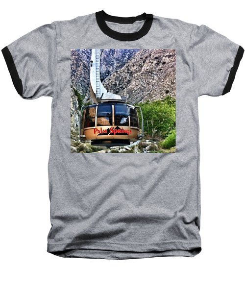 Palm Springs Tram 2 Baseball T-Shirt