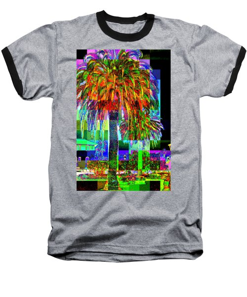 Baseball T-Shirt featuring the photograph Palm Tree by Jodie Marie Anne Richardson Traugott          aka jm-ART