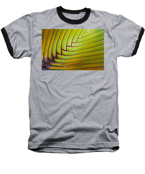 Palm Tree Leafs Baseball T-Shirt