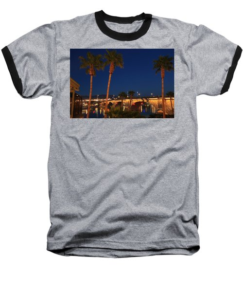 Palms At London Bridge Baseball T-Shirt