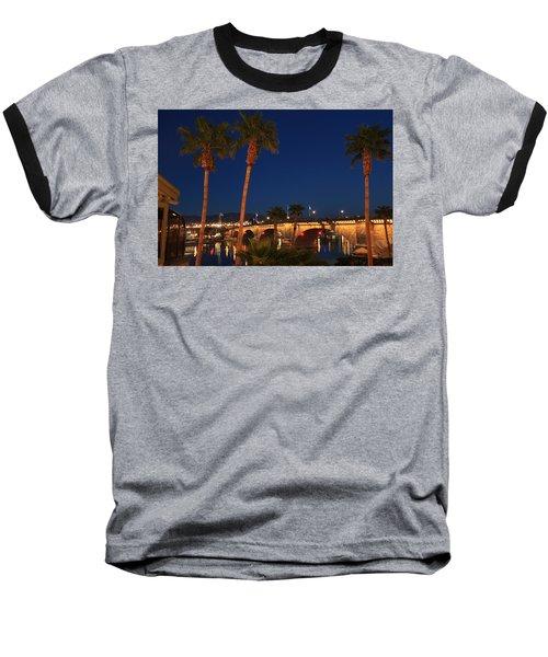 Palms At London Bridge Baseball T-Shirt