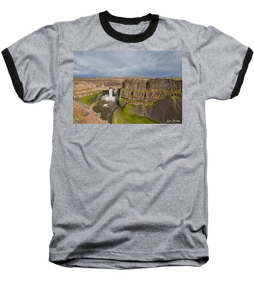 Palouse Falls Baseball T-Shirt