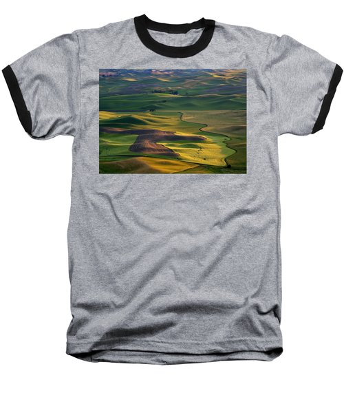 Palouse Shadows Baseball T-Shirt