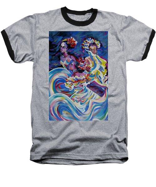 Panama Carnival. Folk Dancers Baseball T-Shirt