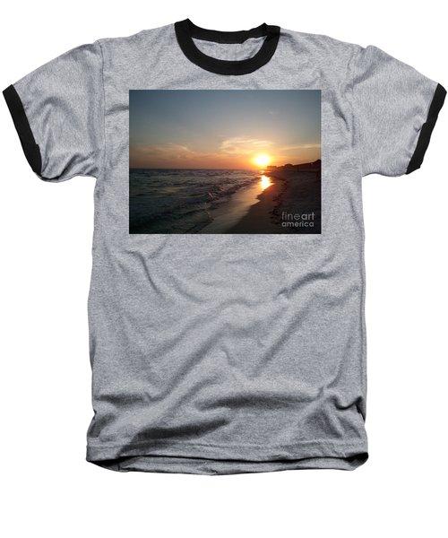Panama City Beach Sunset Baseball T-Shirt
