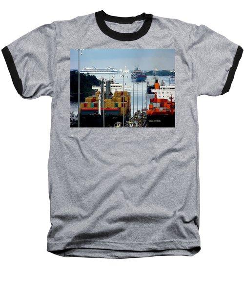 Panama Express Baseball T-Shirt