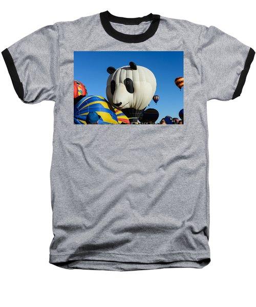 Panda Balloon Baseball T-Shirt