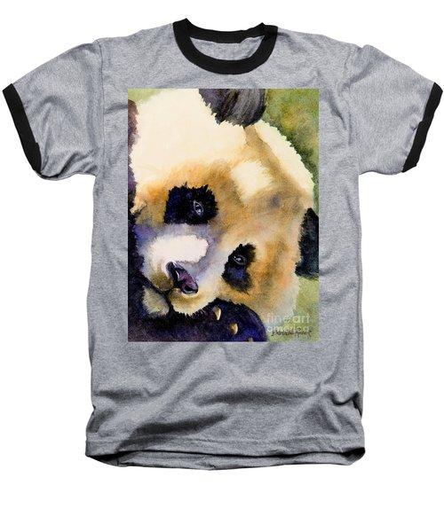 Panda Cub Baseball T-Shirt