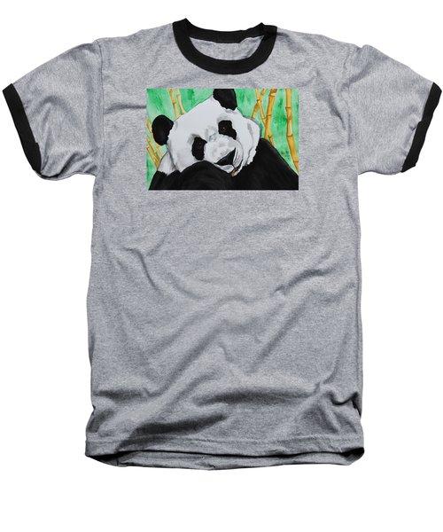 Panda Baseball T-Shirt by Patricia Olson