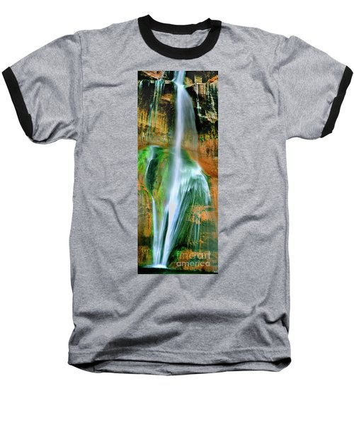 Baseball T-Shirt featuring the photograph Panorama Lower Calf Creek Falls Escalante Nm Utah by Dave Welling