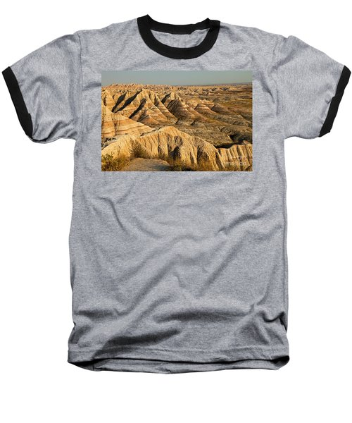 Panorama Point Badlands National Park Baseball T-Shirt