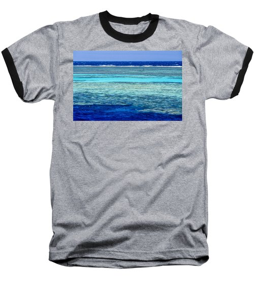 Panorama Reef Baseball T-Shirt