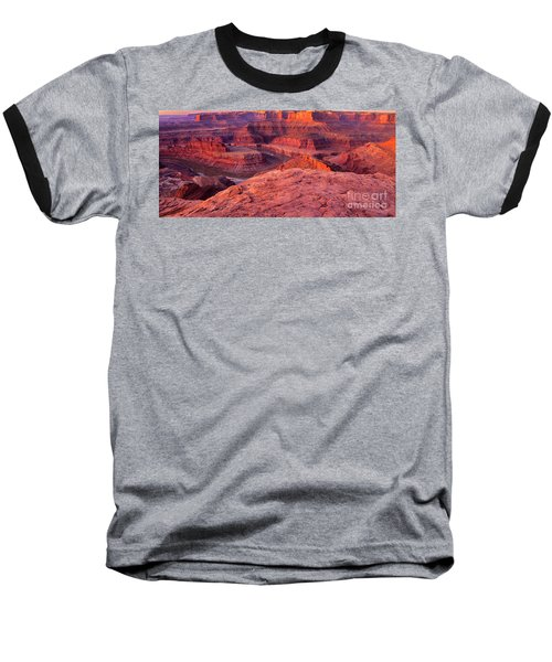 Baseball T-Shirt featuring the photograph Panorama Sunrise At Dead Horse Point Utah by Dave Welling