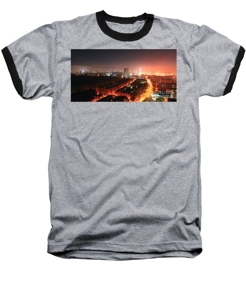 Panoramic London Baseball T-Shirt