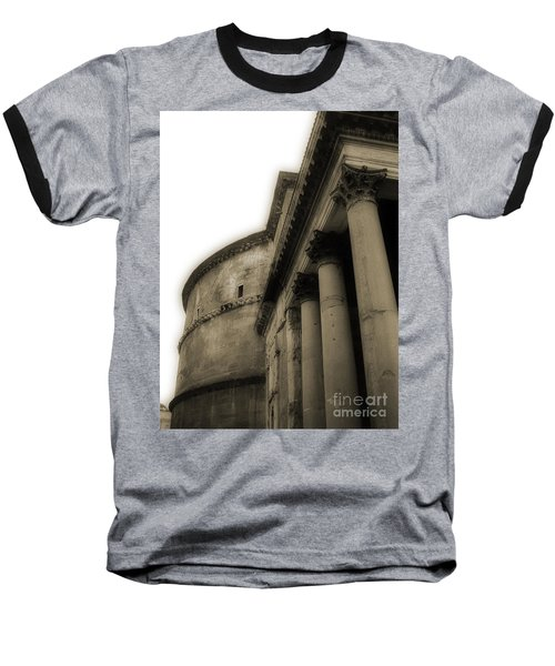 Pantheon Baseball T-Shirt by Angela DeFrias