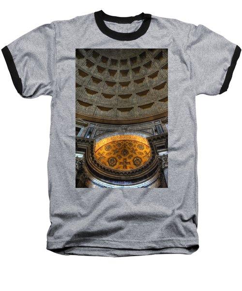 Pantheon Ceiling Detail Baseball T-Shirt