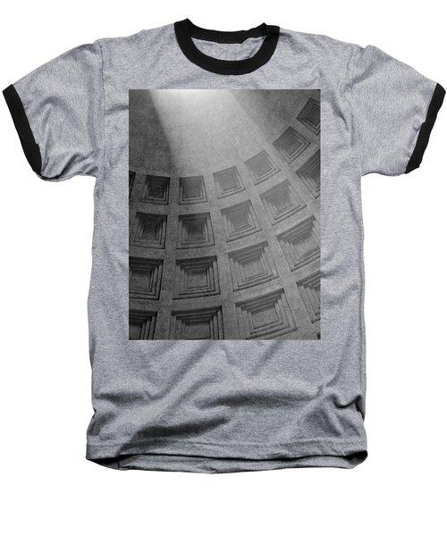 Pantheon Ceiling Baseball T-Shirt