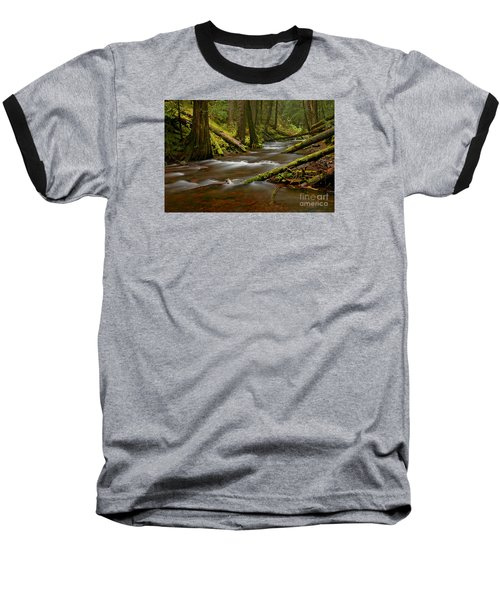 Panther Creek Landscape Baseball T-Shirt