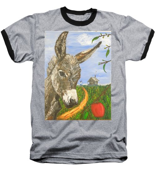 Papas Last Apple Baseball T-Shirt