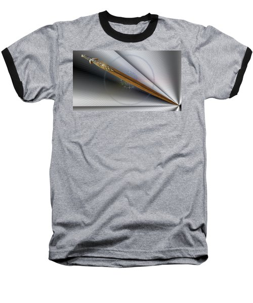Paper Cut Baseball T-Shirt