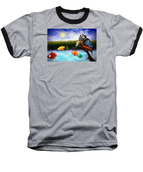 Paper Dreams Baseball T-Shirt by Alessandro Della Pietra