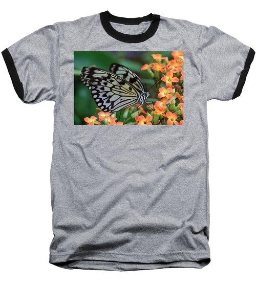 Paper Kite Butterfly Baseball T-Shirt