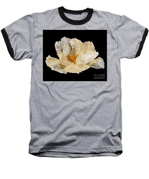 Paper Peony Baseball T-Shirt by Diane E Berry
