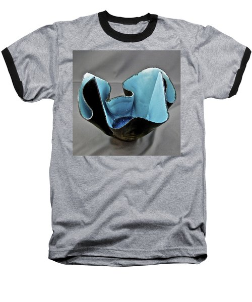 Baseball T-Shirt featuring the sculpture Paper-thin Bowl  09-003 by Mario Perron