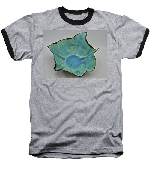 Baseball T-Shirt featuring the sculpture Paper-thin Bowl  09-008 by Mario Perron