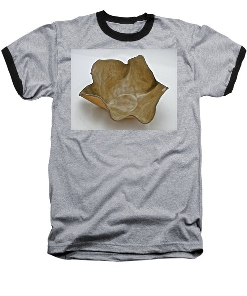 Baseball T-Shirt featuring the sculpture Paper-thin Bowl  09-010 by Mario Perron