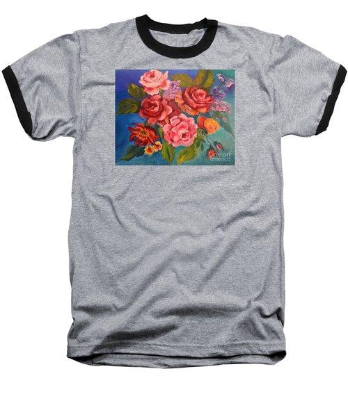 Parade Of Roses 11 Baseball T-Shirt