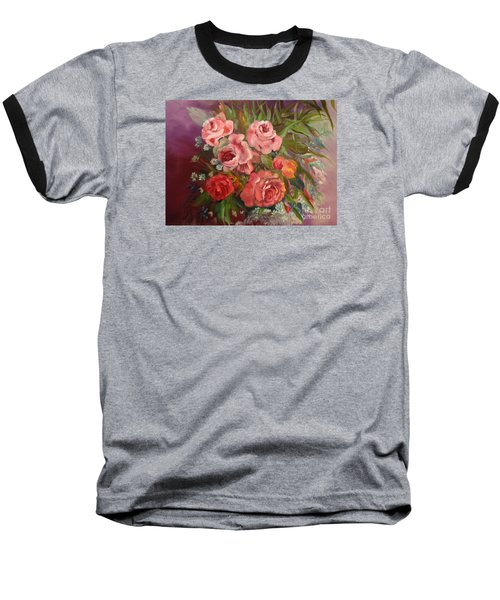 Parade Of Roses Baseball T-Shirt