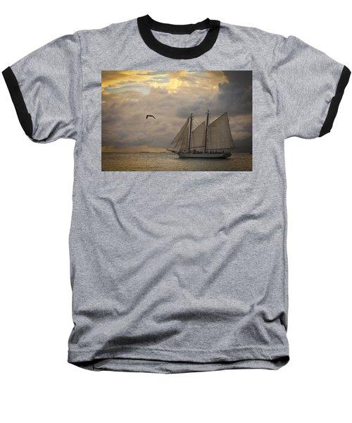 Paradise Calling Baseball T-Shirt