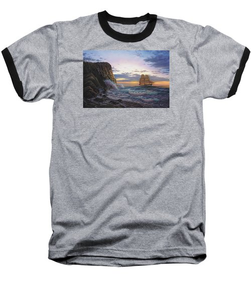 Paradise Cove And The Lightning  Baseball T-Shirt