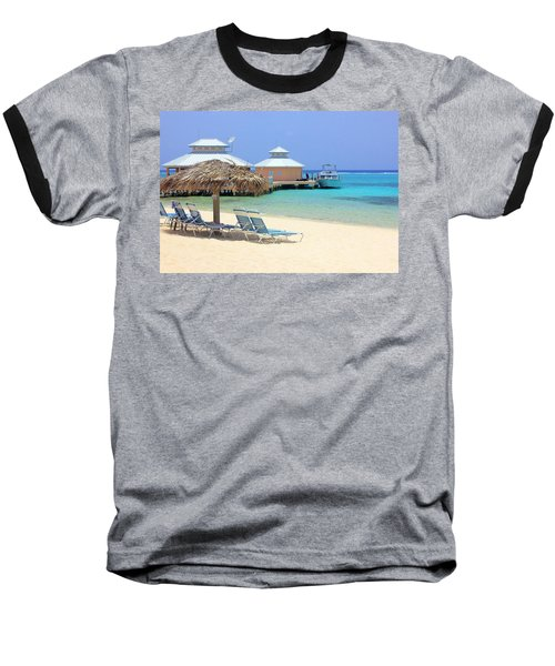 Paradise Docking Baseball T-Shirt