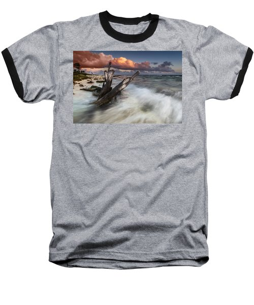 Baseball T-Shirt featuring the photograph Paradise Lost by Mihai Andritoiu